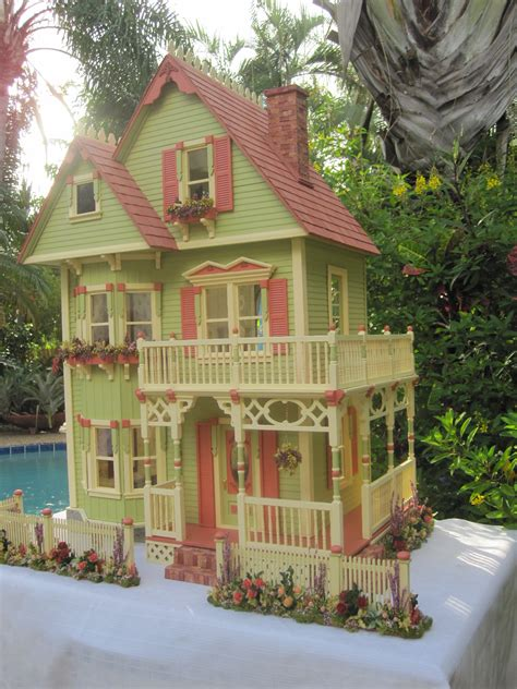 picture of a doll house dollhouses by robin carey new gothic victorian dollhouse