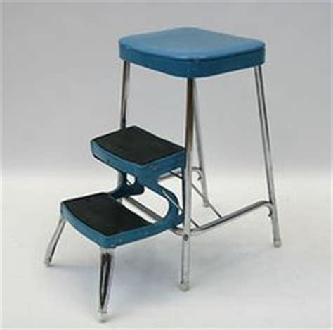 Fashioned Kitchen Stool With Steps by Vintage Kitchen Steps Folding 1950 S Stool Step Ladder
