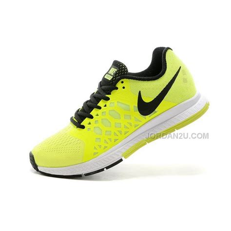 nike zoom pegasus 31 womens running shoes lemon yellow