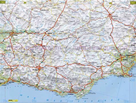 mapa de carreteras de 8499358500 plano de autopistas de almer 237 a mapacarreteras org
