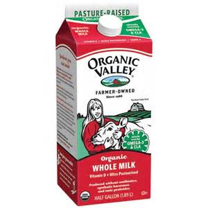 organic valley organic whole milk 64 fl oz