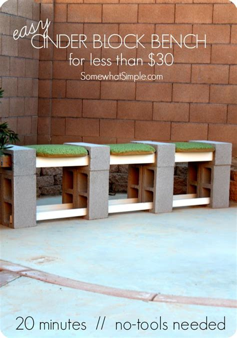 how to build a cinder block bench how to make a cinder block bench cinder blocks how to
