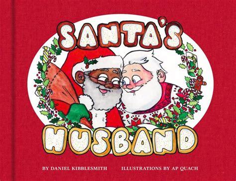 christmas book depicts black santa   husband ny daily news