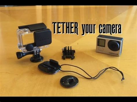gopro as a security gopro 4 how to tether your