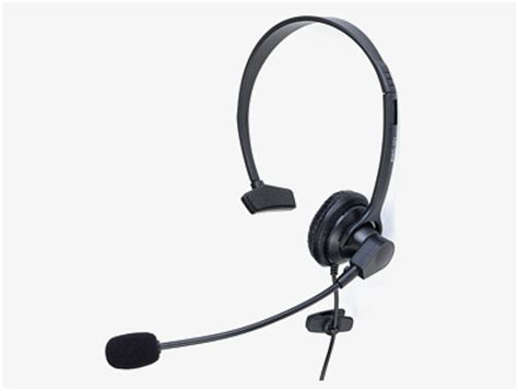 Headset Voip voip headset monaural single ear usb