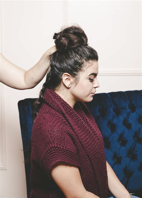 everyday curly hairstyles curly braided top knot top knot hairstyle braids alyssa milano s sexy braided