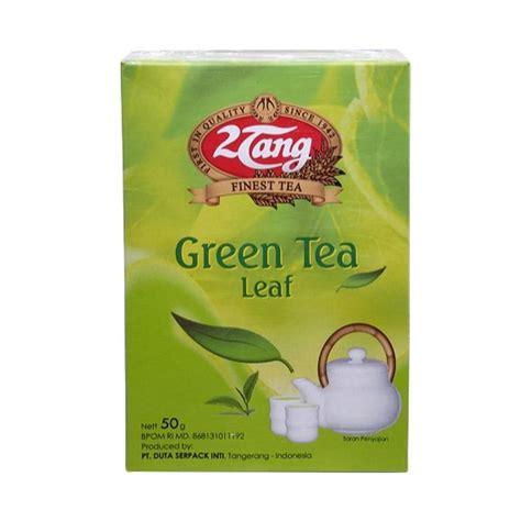 Teh Hijau 2 Tang jual 2tang green tea leaf teh bubuk 50 g 2 pcs