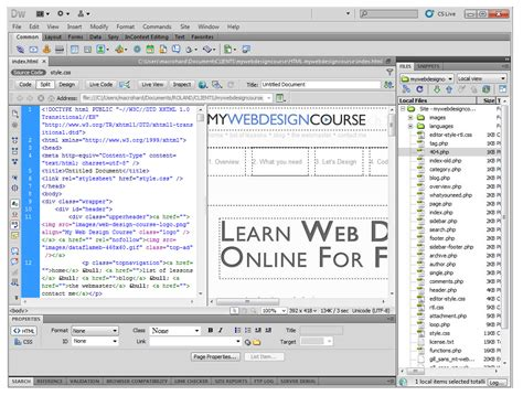 Website Planning Software | best html wysiwyg editor phpsourcecode net