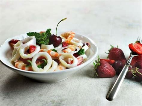 corriere cucina ricette insalata di mare e frutta cucina corriere it