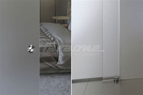 porte scorrevoli di vetro velo la porta scorrevole tuttovetro dal design minimale
