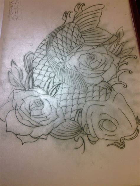 tattoo mandala fish 17 best images about koi on pinterest koi art koi fish