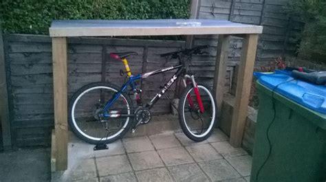diy bike shelter    shed bike shelter bike