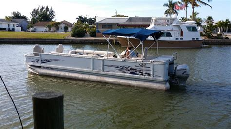 used pontoon boats under 5000 crest 2006 for sale for 5 000 boats from usa