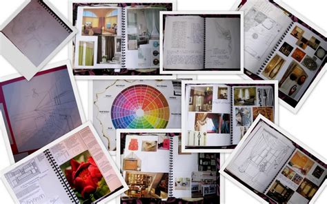 interior design collage 2011 sketchbook ideas kings interiors