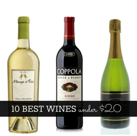 7 Great Wines 20 by 10 Best Wines 20 Glitter Guide