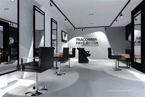 Interior Designer Salon Fryzjerski Ch14 Głodnistylu Wnętrza I Architektura