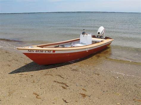 jon boat vs gheenoe nauset marsh skiff john boat plans pinterest boating