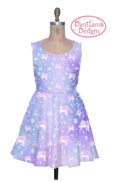 Dress Unicorn Unicorn Dress Pegasus Pony Kei Dress Pastel Galaxy
