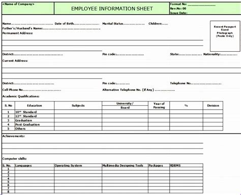 10 Free Employee Database Template In Excel Exceltemplates Exceltemplates Employee Database Template Excel