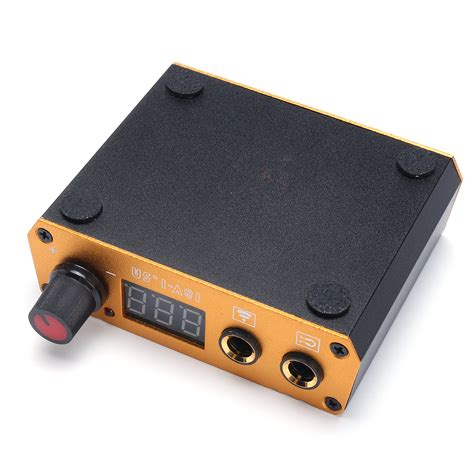 tattoo power supply aluminum alloy mini power supply 18v 1 5a power