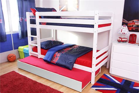 white bunk bed with trundle stylish white bunk beds with trundle loft bed design