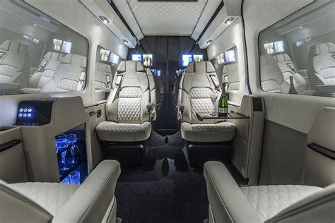 Mercedes Sprinter Interior by Jet Sprinter Senzati