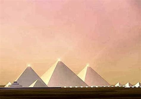 what color did 5 things you never knew about s iconic pyramids
