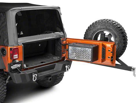 Jeep Wrangler Cargo Box Strike Zebra Wrangler Cargo Vault Storage Box Sfz