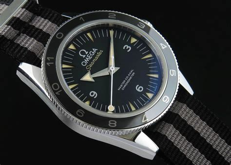 Replica Omega Seamaster 300 Spectre James Bond 007 Vintage Watch from KW Factory   Hot Spot on