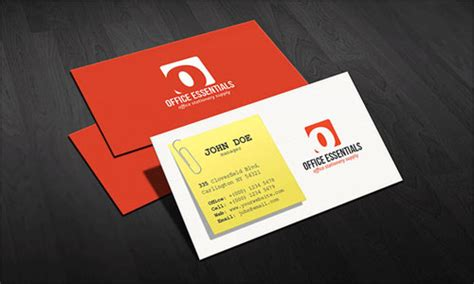 department business card templates 120 free business card psd templates psdreview