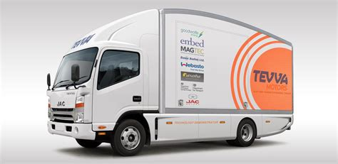 electric company truck tevva motors introduces range extended electric trucks in uk