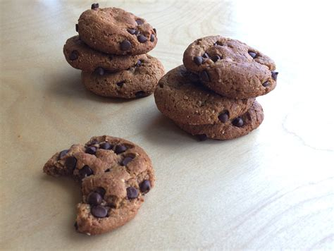 Choco Almond Cookies chocolate chip almond drop cookies