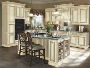 How To Antique Kitchen Cabinets by Painted Antique White Kitchen Cabinets To Paint Antique