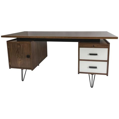 amazing desks amazing custom made pastoe inspired walnut desk for sale