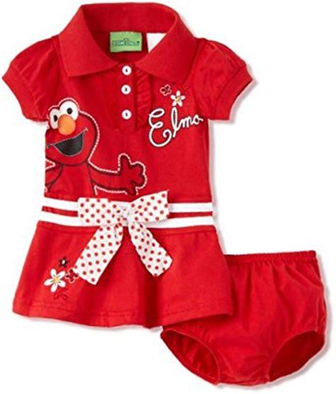 Supplier Fashion Realpict Elmo Dres By Rasya sesame baby elmo bow dress medium 24 months clothing