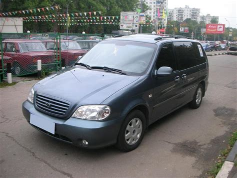 Kia Sedona 2002 Problems 2002 Kia Carnival Photos 2 5 Gasoline Manual For Sale