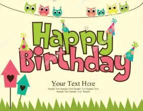 21 printable birthday cards psd vector