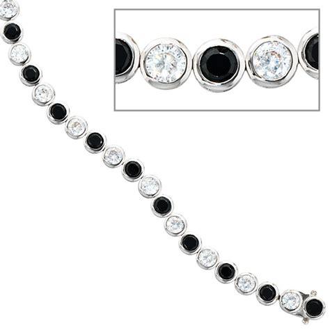 kerzenständer silber mit glasaufsatz armband silber 925 rhodiniert mit runden schwarzen und