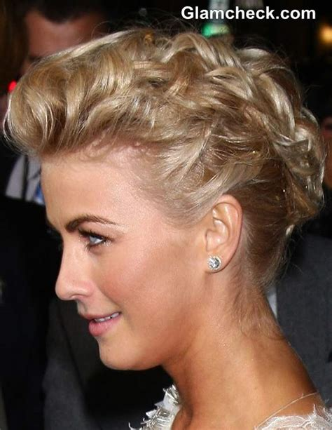 updo hairstyles julianne hough julianne hough rules red carpet in sophisticated updo