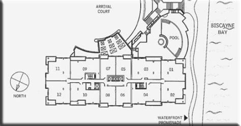 brickell place floor plans courts brickell key condo floor plans