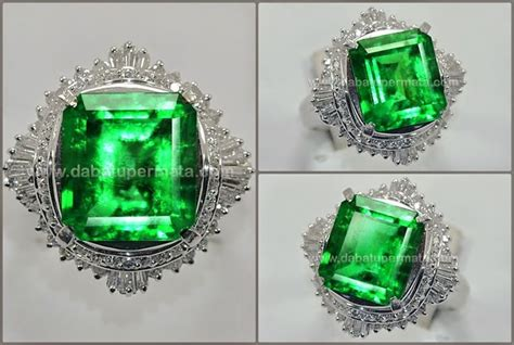 6 8 Crat Zambrud Columbia 15 best emerald gemstone batu zamrud images on