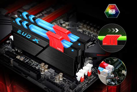 Original Geil Ddr4 Evo Potenza Pc19200 Single Channel 4gb geil announced world s fully rgb illuminated ddr4 memory module controlled by motherboard
