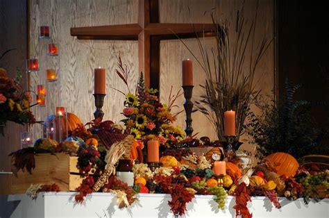 fall decorations for church thanksgiving altar decorations decor