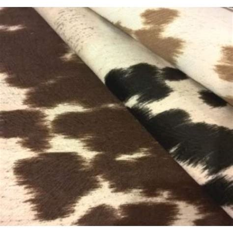 cow upholstery fabric faux cow hide home decor fabric light tan fabric traders