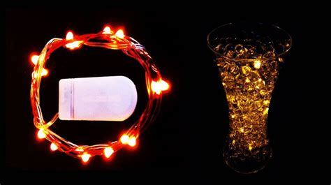 Battery Operated Lights For Vases by Submersible Battery Operated 20leds String Lights Floral