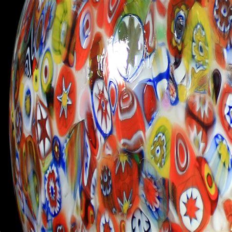 lade da tavolo la murrina lada da tavolo in vetro murrina veneziana forma a uovo