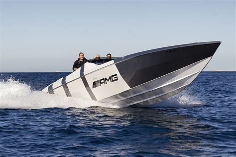 speedboot amg amg speedboat by cigarette bad boys ahoi classic driver