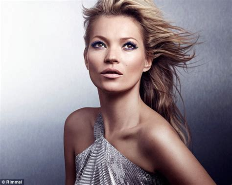 Kate Moss Is Named Model Of The Year 2 by Kate Moss Unveils New Rimmel Caign Daily Mail