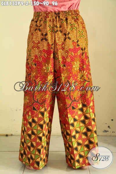 Celana Kulot Sogan Sinaran 2 model celana batik kulot 2017 hadir dengan bahan halus