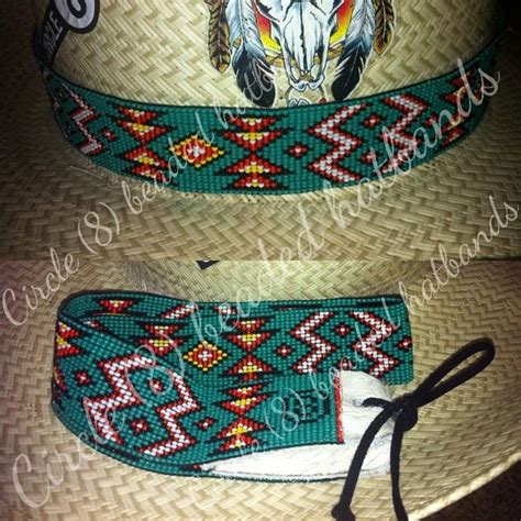 circle 8 beaded hat bands 142 best circle 8 beaded hatbands images on